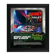 Bobby Lashley Money In The Bank 2020 15 x 17 Limited Edition Plaque