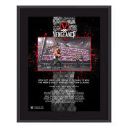 MSK NXT TakeOver Vengeance Day 10x13 Commemorative Plaque