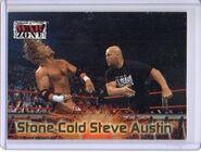2001 WWF RAW Is War (Fleer) Stone Cold Steve Austin 77