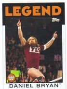2016 WWE Heritage Wrestling Cards (Topps) Daniel Bryan 78