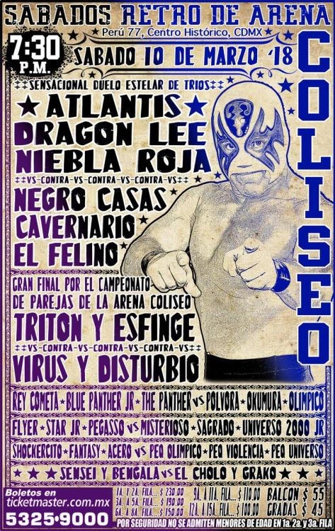 CMLL Sabados De Coliseo (March 10, 2018)