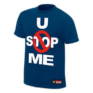 John Cena U Can't Stop Me Navy Youth Authentic T-Shirt