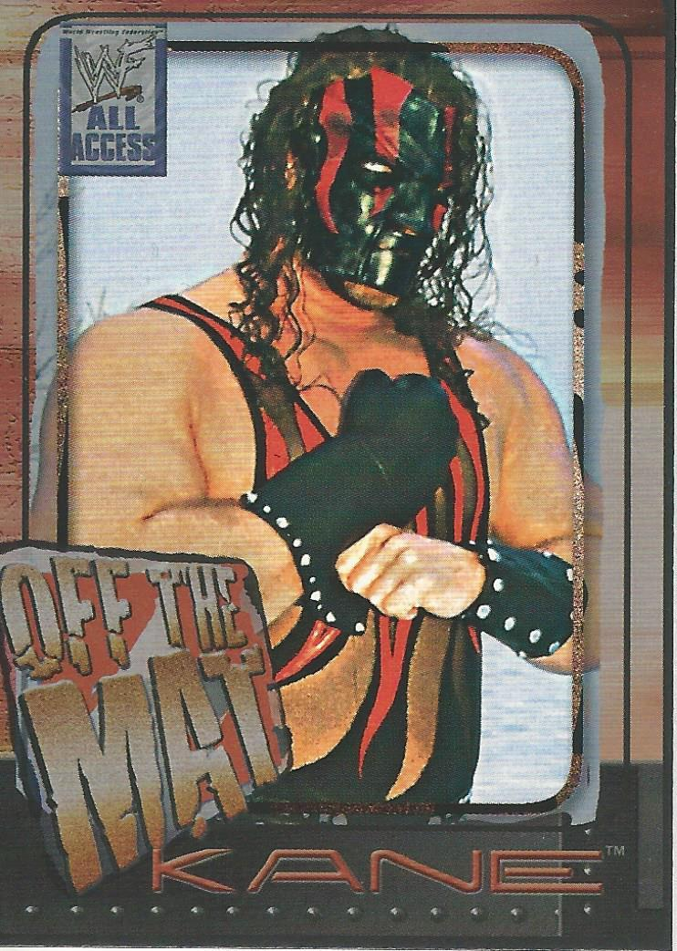 2002 WWF All Access (Fleer) Kane (No.51)
