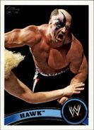 2011 WWE (Topps) Hawk 105