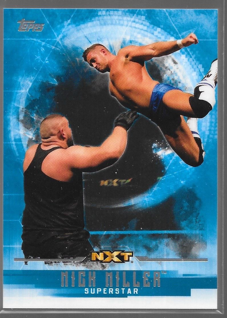 2017 WWE Undisputed Wrestling Cards (Topps) Nick Miller (No.49)