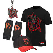 Dean Ambrose This Lunatic Runs The Asylum Halloween Youth T-Shirt Package
