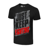 Kevin Owens Just Keep Fighting Authentic T-Shirt