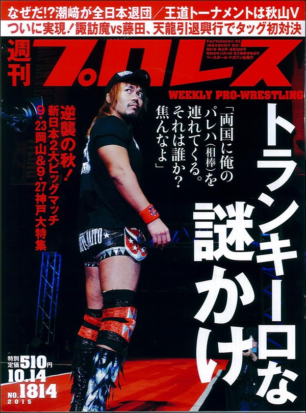 Weekly Pro Wrestling No. 1814