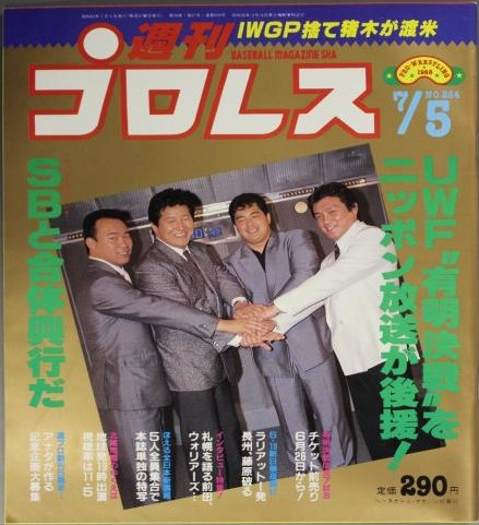 Weekly Pro Wrestling No. 264