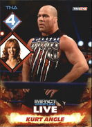 2013 TNA Impact Wrestling Live Trading Cards (Tristar) Kurt Angle 66