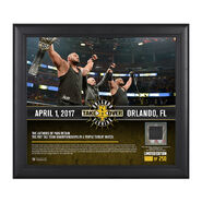 Authors of Pain NXT TakeOver Orlando 15 x 17 Framed Plaque w Ring Canvas