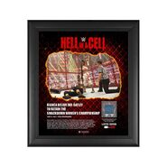 Bianca Belair Hell in A Cell 2021 15 x 17 Commemorative Plaque