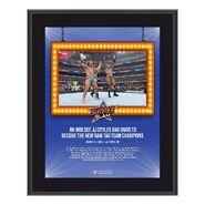 RK-Bro SummerSlam 2021 10x13 Commemorative Plaque