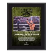 Tommaso Ciampa NXT TakeOver WarGames 2020 10x13 Commemorative Plaque