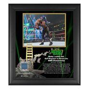 Bobby Lashley Money In The Bank 15x17 Commemorative Plaque
