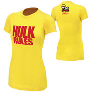 Hulk Hogan Hulk Rules 30th womens t shirt