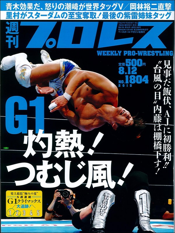 Weekly Pro Wrestling No. 1804