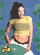 2001 WWF The Ultimate Diva Collection (Fleer) Lita 40