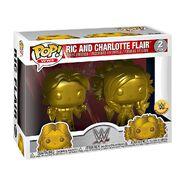 Ric Flair & Charlotte Flair Gold POP Vinyl Figure 2-Pack