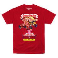 The Miz Mouthy Miz & Mrs Garbage Pail Kids T-Shirt