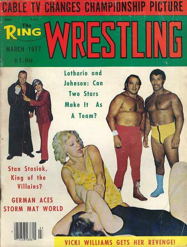 The Ring Wrestling - March 1977