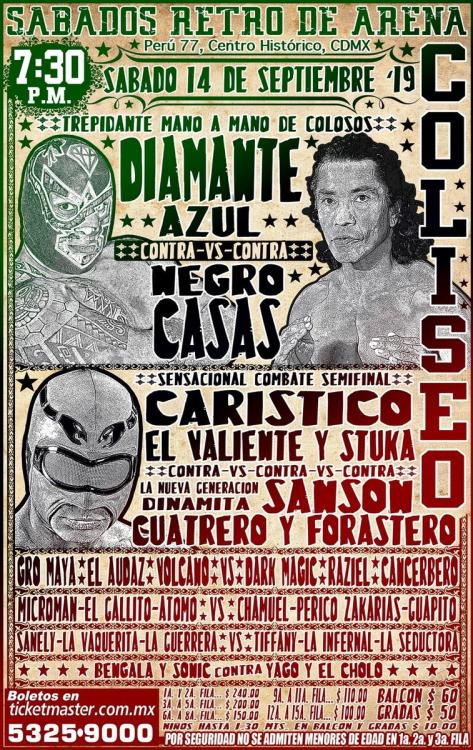 CMLL Sabados De Coliseo (September 14, 2019)