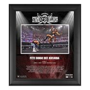 Pete Dunne NXT TakeOver Stand & Deliver 15x17 Commemorative Plaque