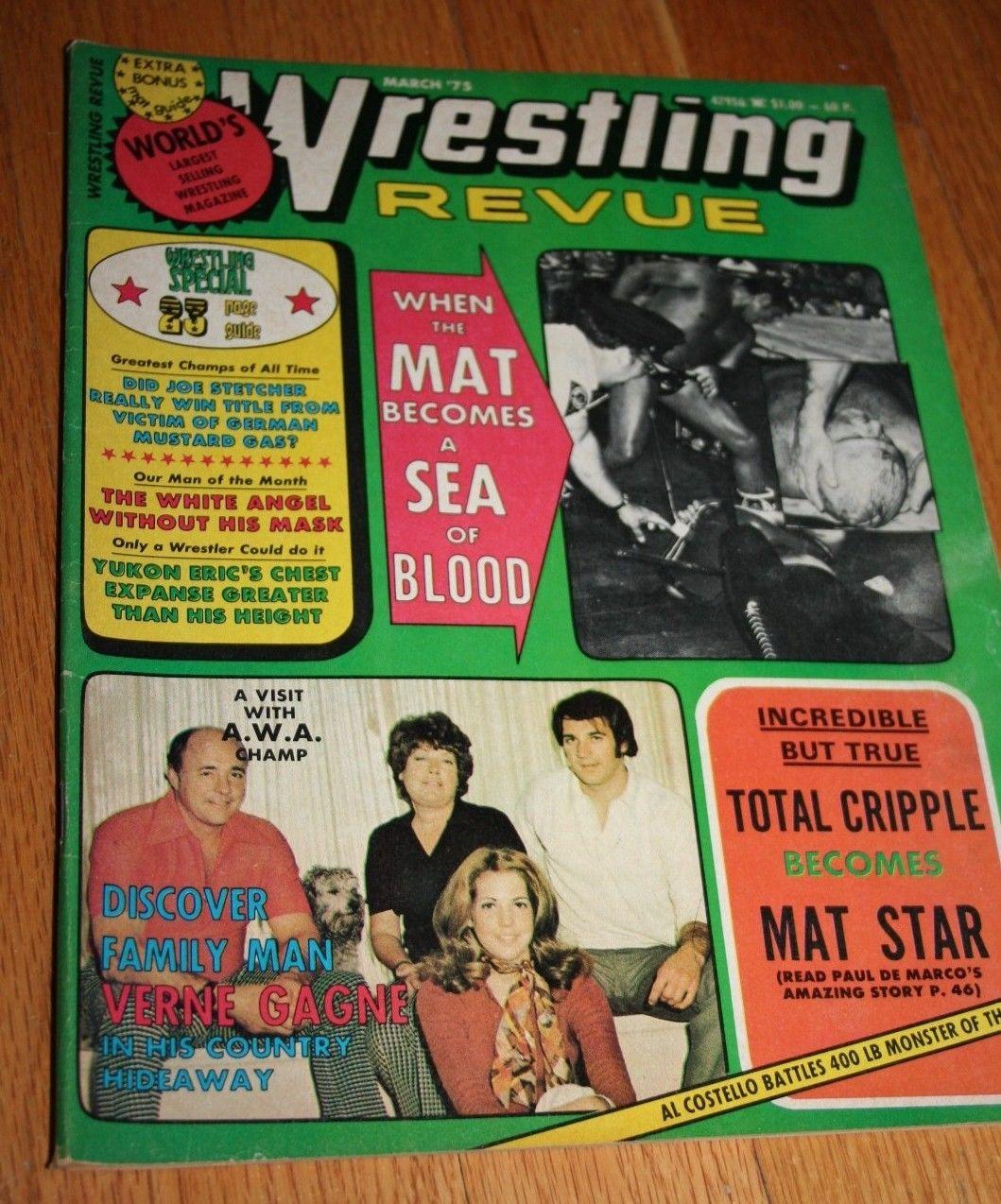 Wrestling Revue - March 1975