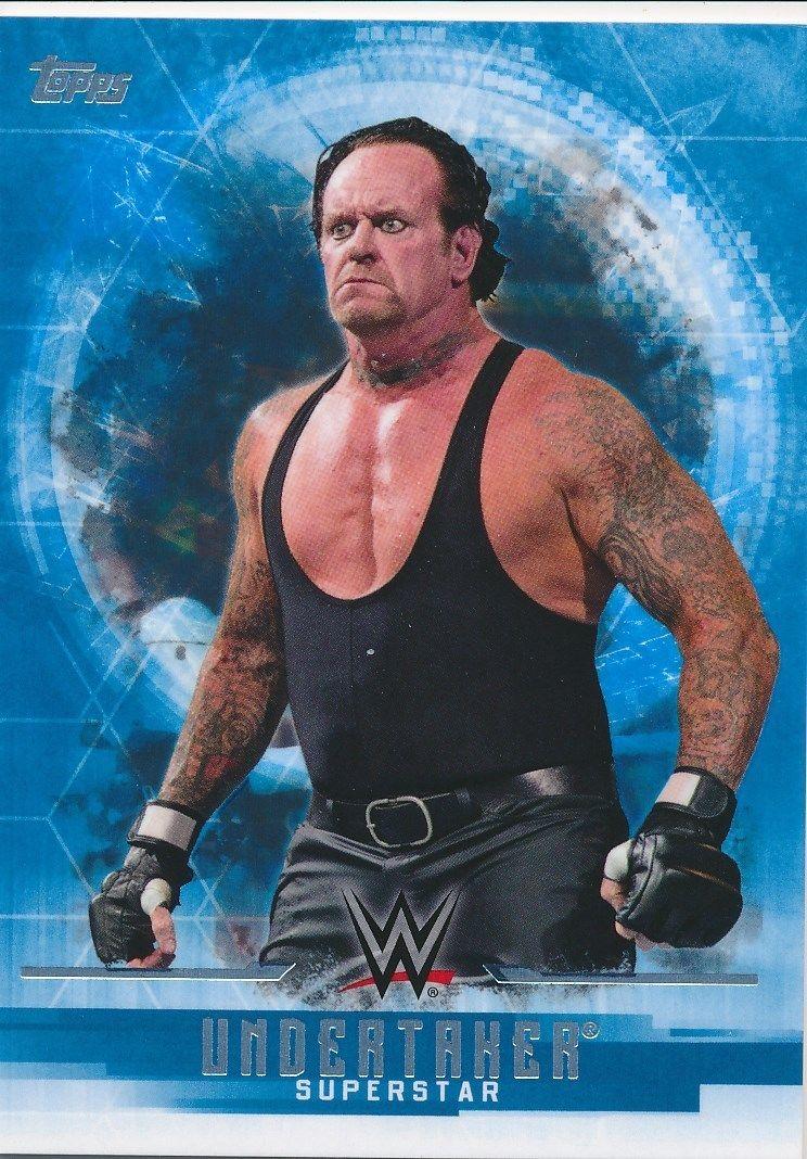 2017 WWE Undisputed Wrestling Cards (Topps) Undertaker (No.38)