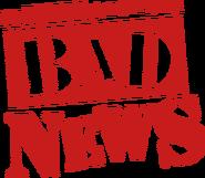 Bad News Logo cut by Danger Liam