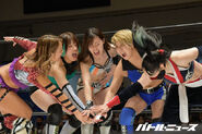 Ice Ribbon & Actwres girl'Z Joint Show 13