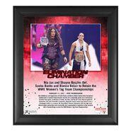 Nia Jax & Shayna Baszler Elimination Chamber 2021 15x17 Commemorative Plaque