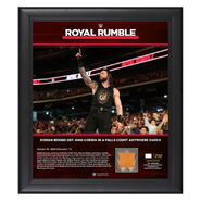 Roman Reigns Royal Rumble 2020 15x17 Limited Edition Plaque