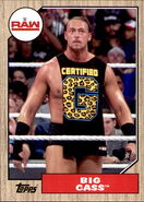 2017 WWE Heritage Wrestling Cards (Topps) Big Cass 13