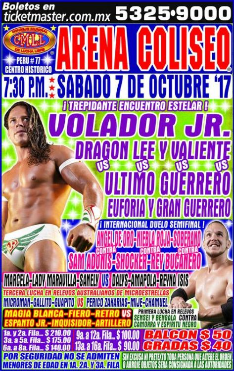 CMLL Sabados De Coliseo (October 7, 2017)