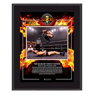 Finn Balor NXT Takeover XXX 2020 10x13 Commemorative Plaque