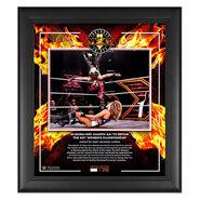 Io Shirai NXT TakeOver XXX 2020 15x17 Commemorative Plaque