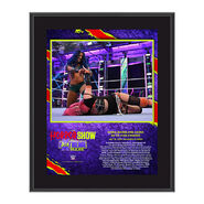 Sasha Banks The Horror Show At Extreme Rules 2020 10x13 Commemorative Plaque