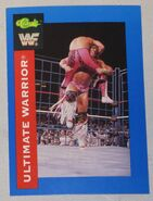 1991 WWF Classic Superstars Cards Ultimate Warrior 2