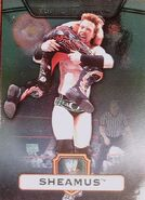 2010 WWE Platinum Trading Cards Sheamus 100