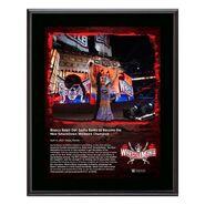 Bianca Belair WrestleMania 37 10x13 Commemorative Plaque