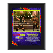MVP The Horror Show At Extreme Rules 2020 10x13 Commemorative Plaque