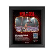 Seth Rollins Hell in A Cell 2021 15 x 17 Commemorative Plaque