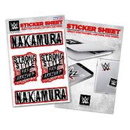 Shinsuke Nakamura Strong Style Has Arrived Sticker Sheet