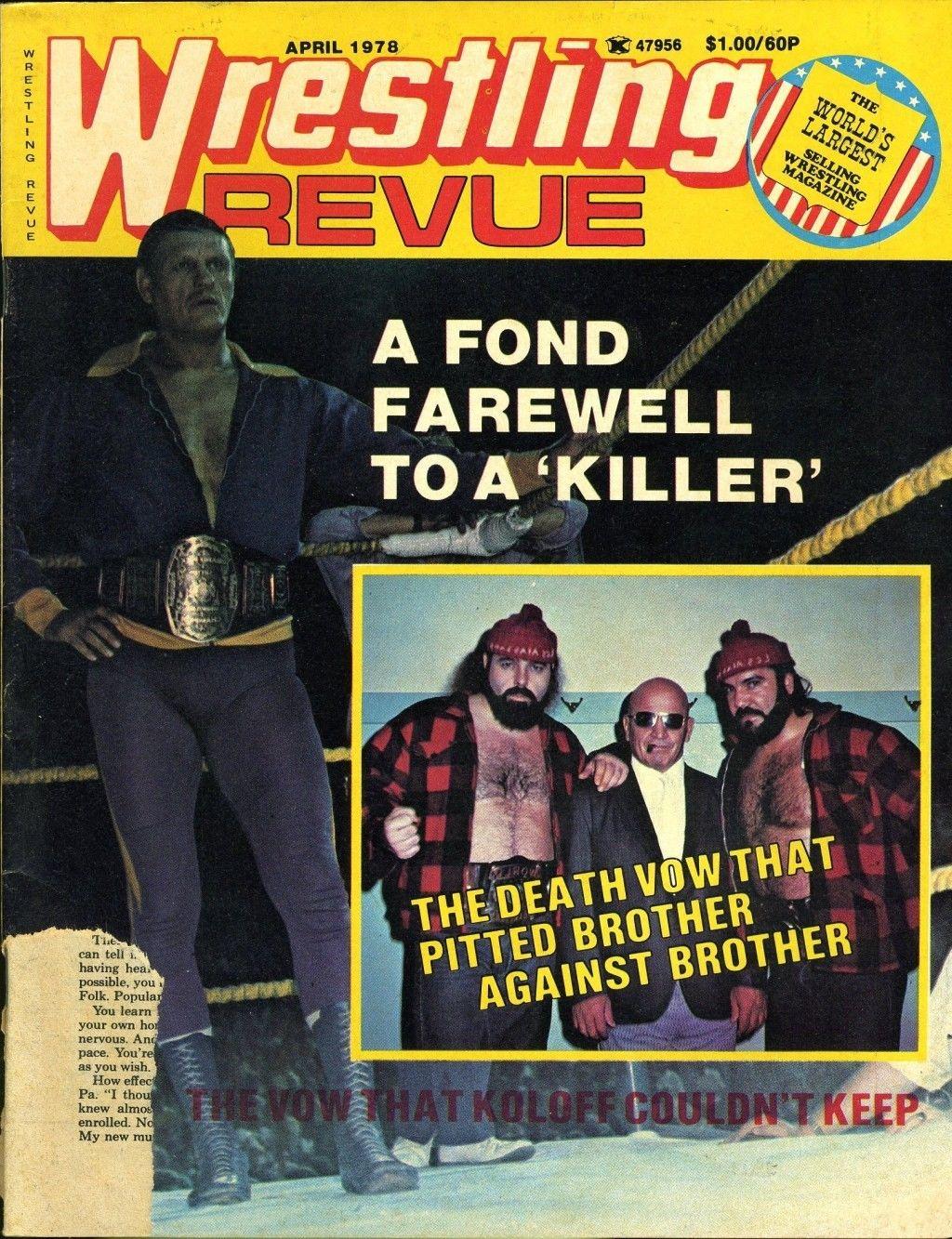 Wrestling Revue - April 1978