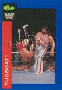 1991 WWF Classic Superstars Cards Tugboat 13
