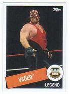 2015 WWE Heritage Wrestling Cards (Topps) Vader 48
