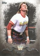 2016 Topps WWE Undisputed Wrestling Cards Rowdy Roddy Piper 87