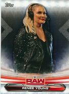 2019 WWE Raw Wrestling Cards (Topps) Renee Young 57