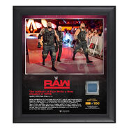 Authors of Pain RAW New Orleans 15 x 17 Framed Plaque w Ring Canvas